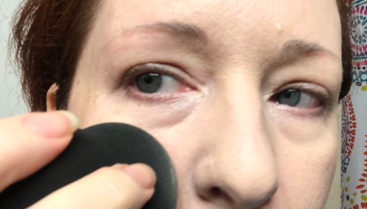 Wrinkles & War Paint, under eye, dark circles, concealer, how to, over 40, eye bags, color corrector