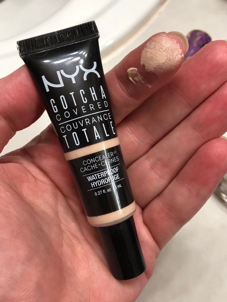 Nyx Gotcha Covered Waterproof concealer