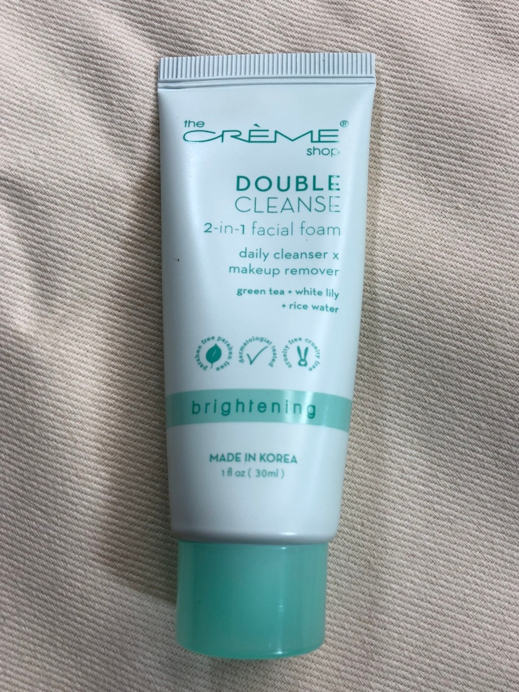 The Créme Shop 2-in-1 Double Cleansing Foam Brightening