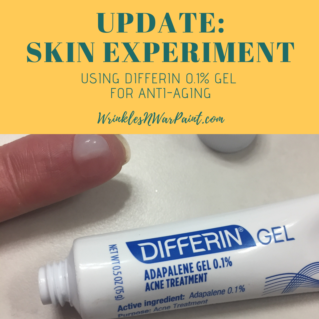 Update Skin Experiment Using Differin For Wrinkles Wrinkles