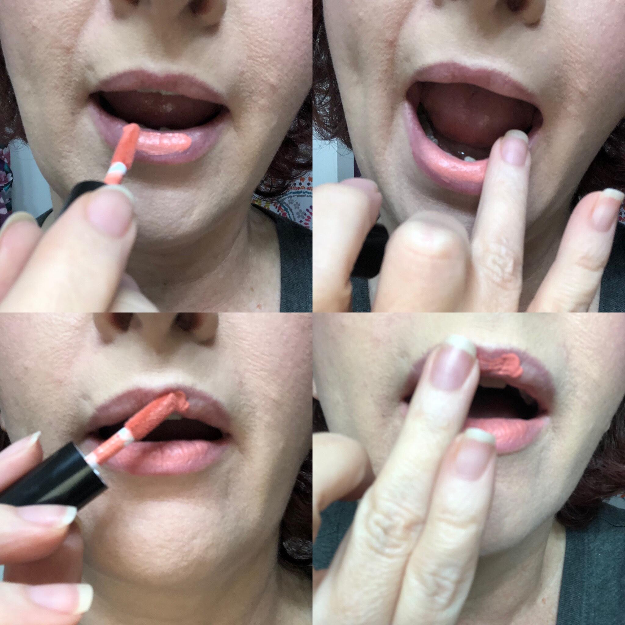 Nyx Sweet Chateau Slip Tease Lip Vault application tips