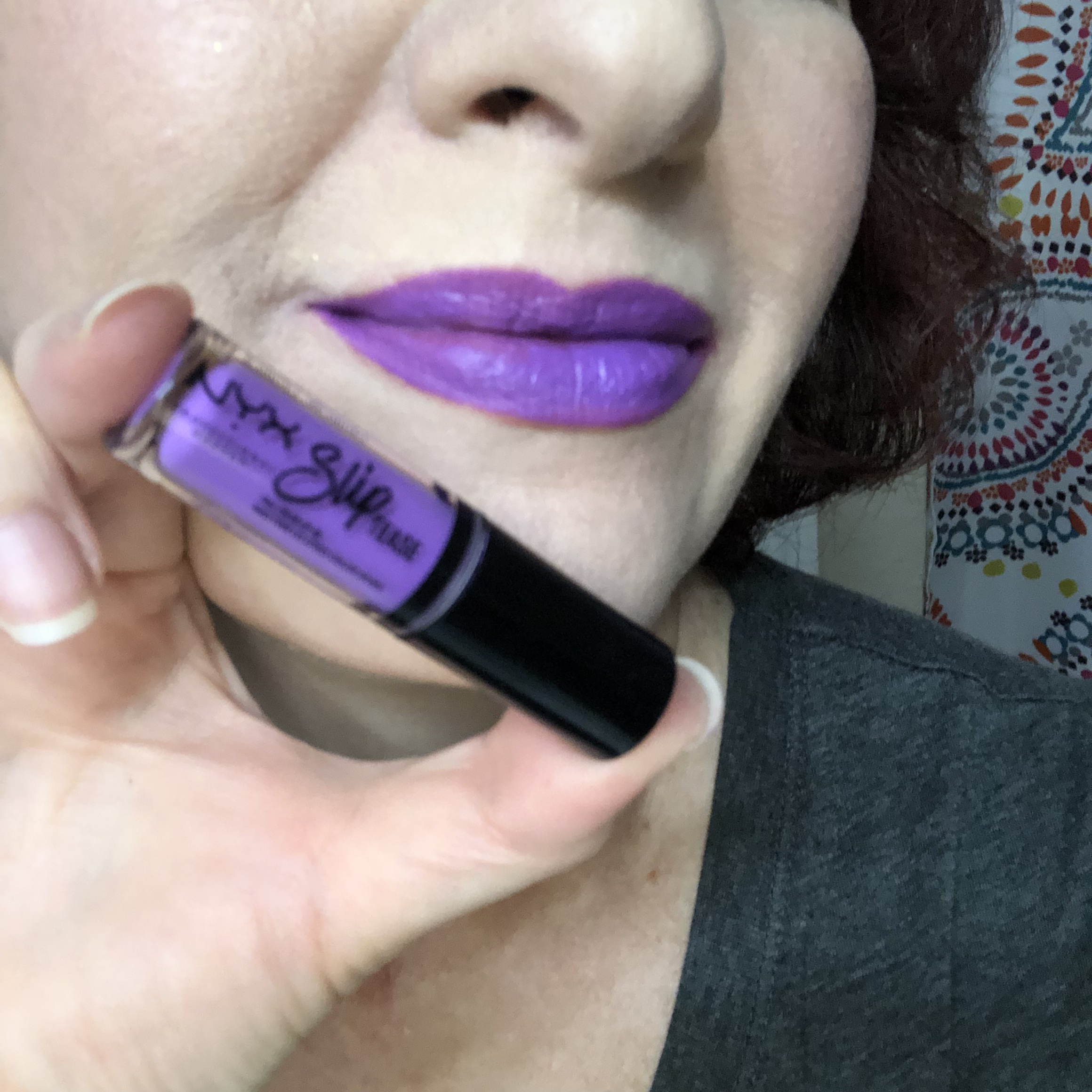 Nyx Sweet Chateau Slip Tease Lip Vault Spoonful of Sweet Swatch