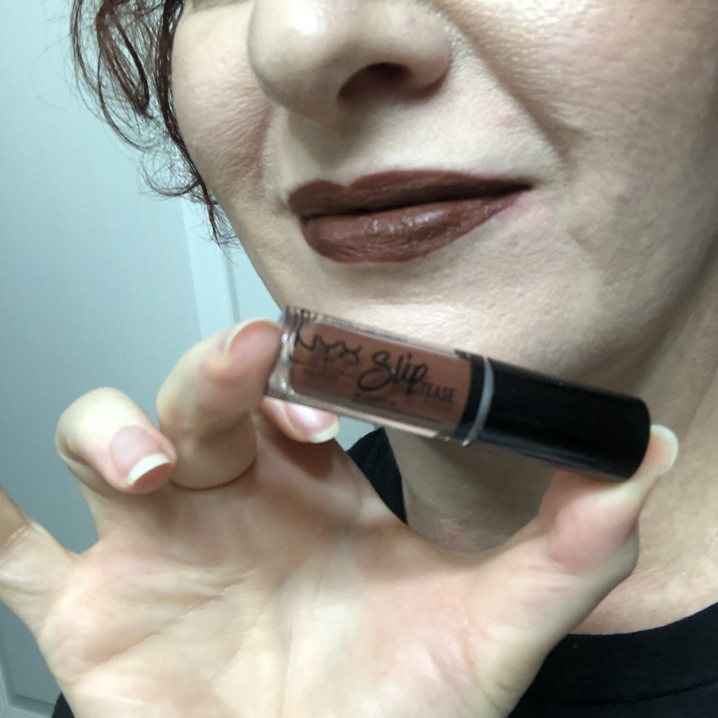 Nyx Sweet Chateau Slip Tease Lip Vault Mystery Flavor Swatch