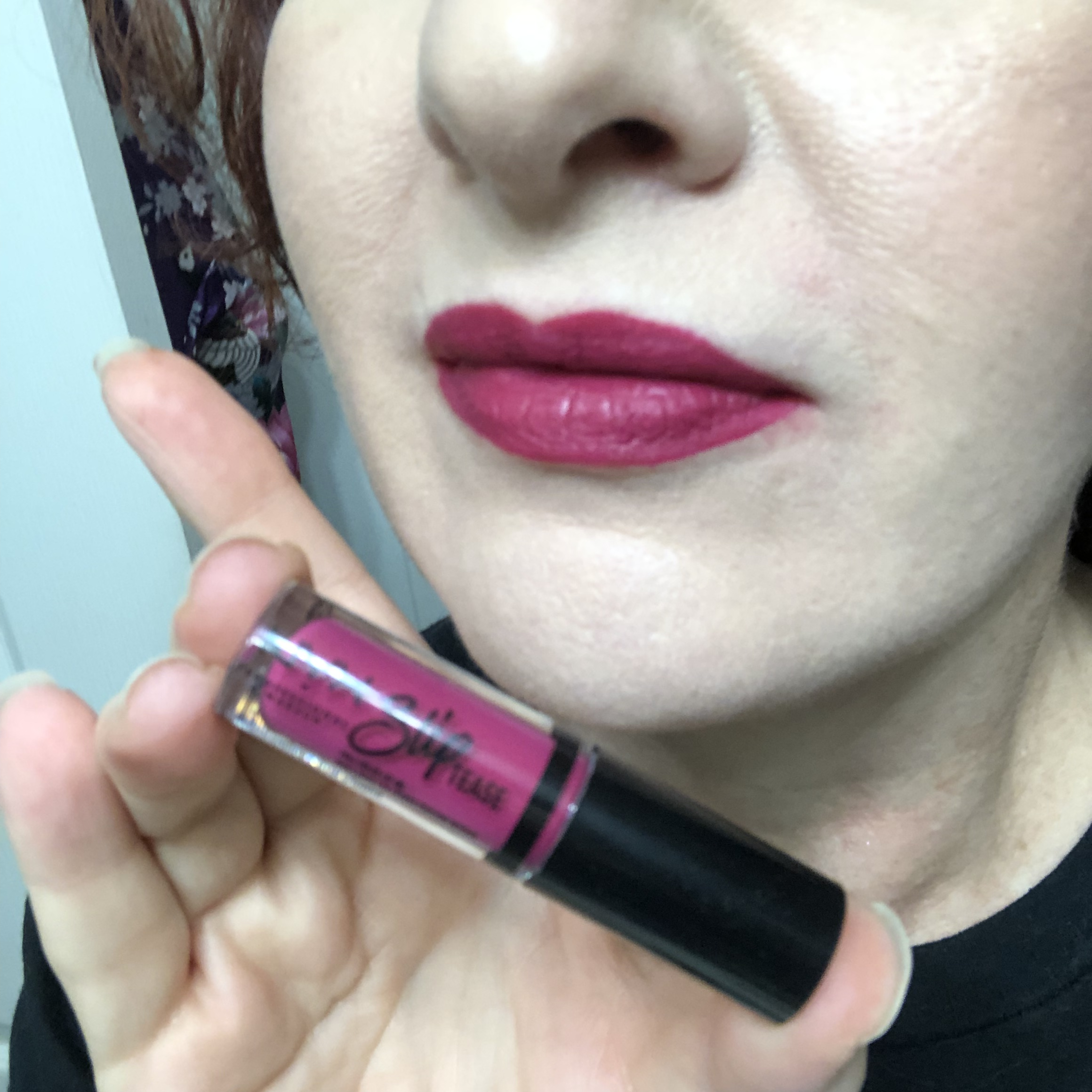Nyx Sweet Chateau Slip Tease Lip Vault Sugar Overload Swatch
