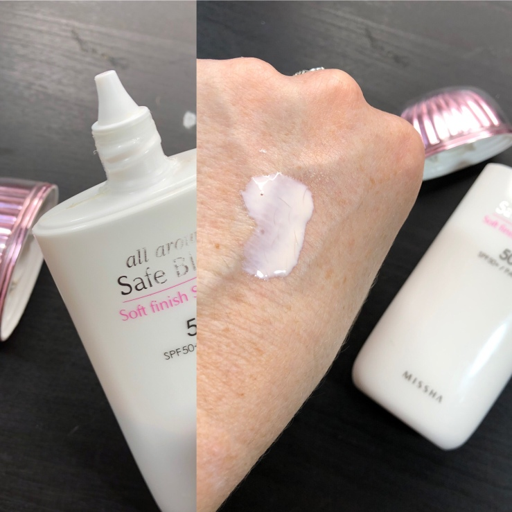 Missha All Around Safe Block Soft Finish Sun Milk SPF 50+ PA+++, sunscreen, Asian skincare, wrinklesnwarpaint.com