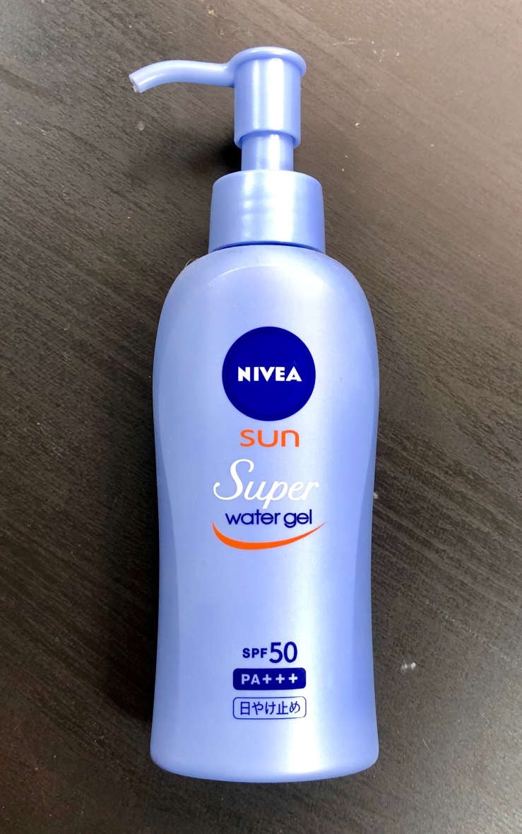 Nivea Sun Super Water Gel SPF 50+ PA+++, sunscreen, Asian skincare, wrinklesnwarpaint.com