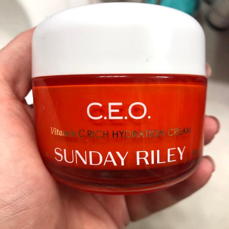 Wrinkles, War Paint, Sunday Riley, C.E.O. Cream, Rich Hydration Cream, Vitamin C, Vitamin C cream, skincare, high end, luxury skincare